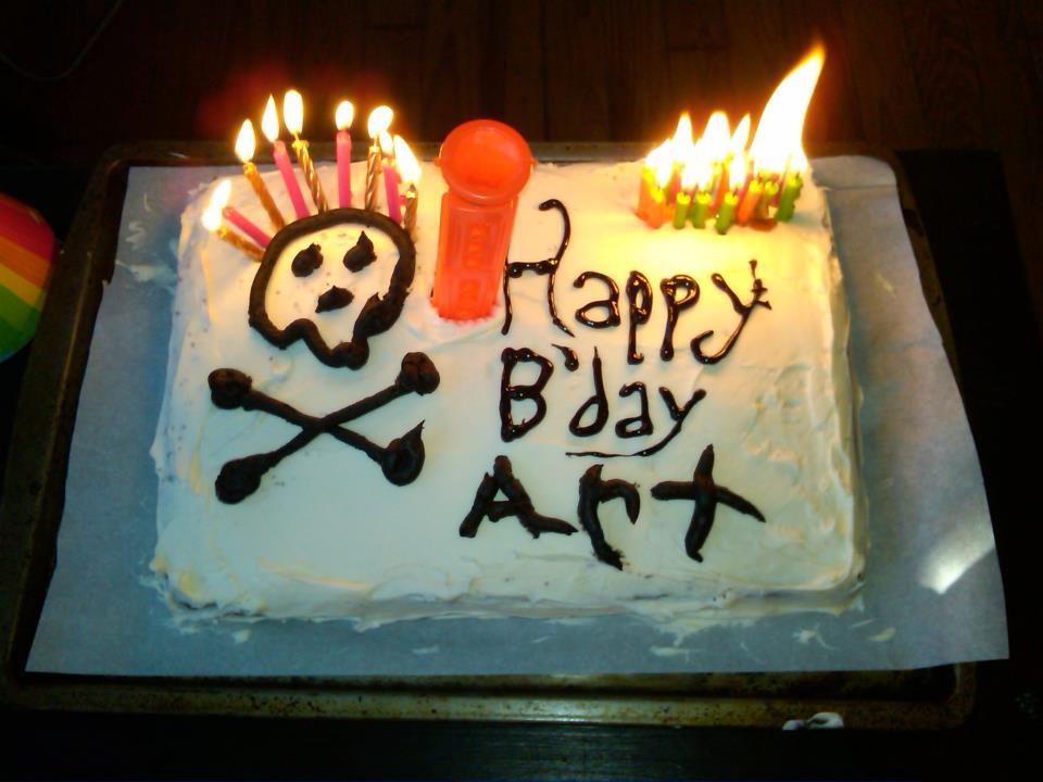 Bidet cake